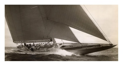 J Class Sailboat, 1934 Art Print
