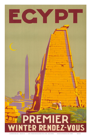 Buy Egypt, Premier Winter Rendez-Vous c.1930s at AllPosters.com