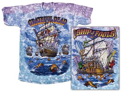 Grateful Dead - Ship Of Fools Apparel T-Shirt