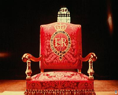 Coronation Throne, 1953