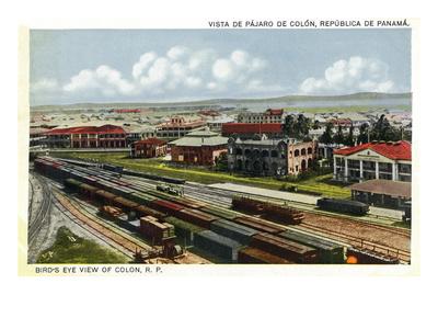 Railroad at Panama.