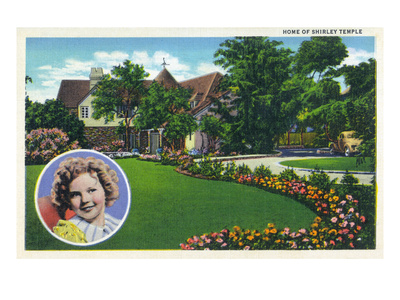 Santa Monica, California - Shirley Temple's Home
