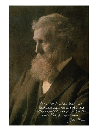 John Muir, naturalist and author.