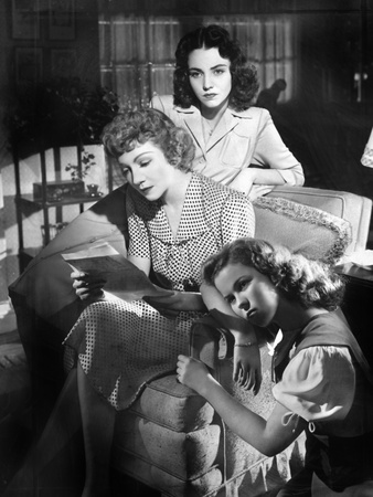 Since You Went Away, Jennifer Jones, Claudette Colbert, Shirley Temple, 1944