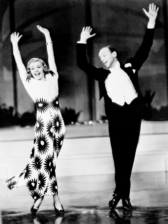 Ginger Rogers Fred Astaire Roller Skating