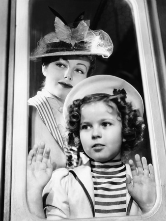 Wee Willie Winkie, June Lang, Shirley Temple, 1937