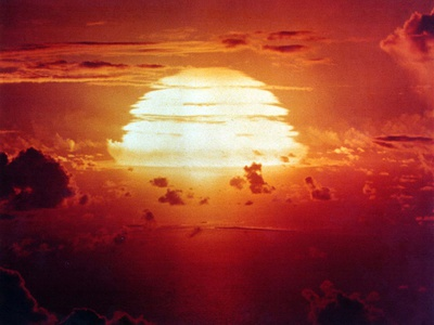 The Apache Shot, Was a 1.85 Megaton Hydrogen Bomb, Enewetak Atoll on July 8, 1956