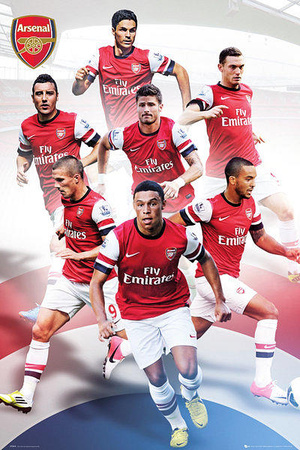 Buy Arsenal FC 2012/13 Players at AllPosters.com