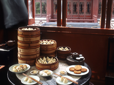 Dim Sum in the Famed Teahouse in ...