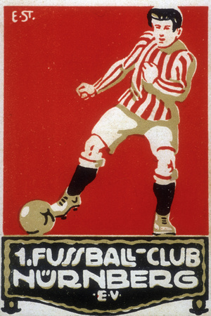 Buy Stamp from Football Club Nuremberg, 1912 at AllPosters.com