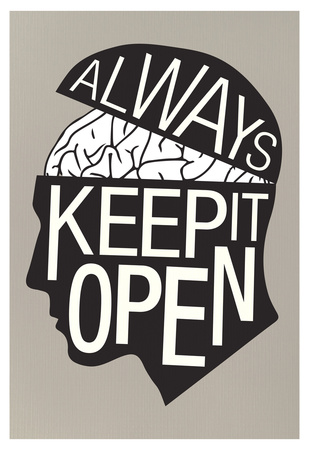 Always Keep It Open Poster Poster