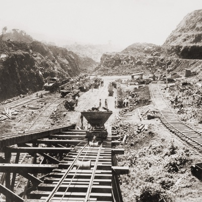 Panama Canal Construction at the ...