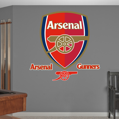 Buy Arsenal Gunners Logo Wall Decal Sticker at AllPosters.com