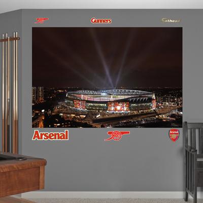 Buy Arsenal Night Sky Stadium Mural Decal Sticker at AllPosters.com