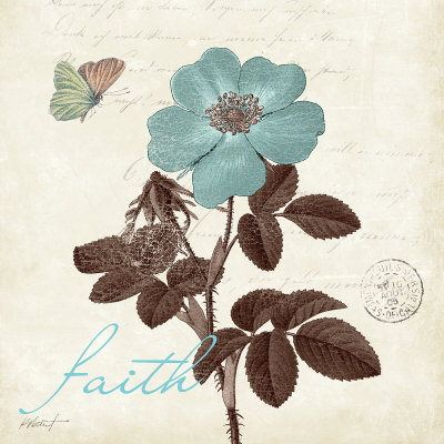 Touch of Blue II, Faith Posters
