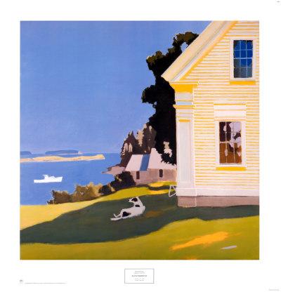 Island Farmhouse, 1969 - Art Print