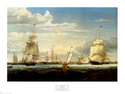 Boston Harbor, 1853.