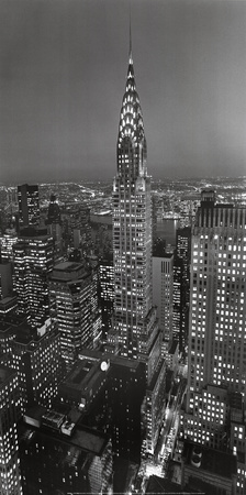 New York, New York, Chrysler Building Posters