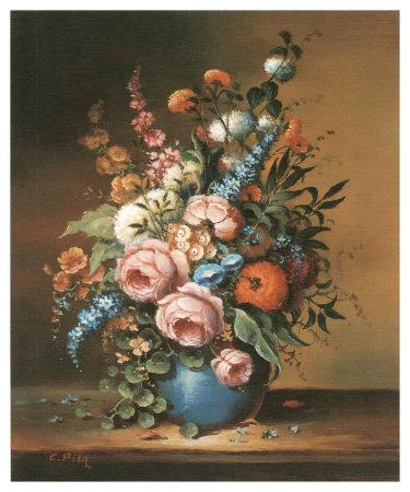 Altmeisterlicher Blumenstrauss