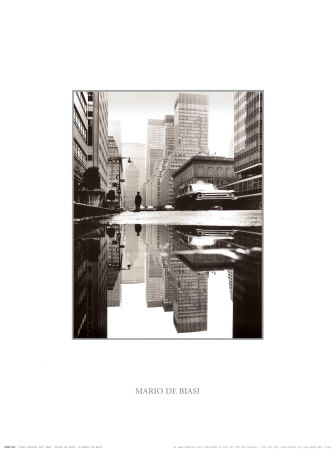 Park Avenue, New York, 1964 Art Print