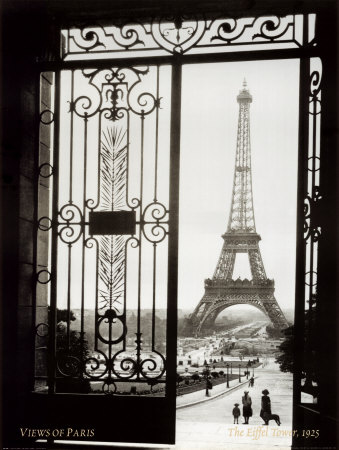 Paris, France, View of the Eiffel Tower Posters