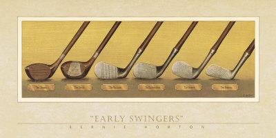 Early Swingers Art Print