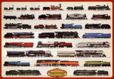 Train Steam Locomotives
