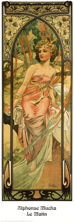 Morning,Alphonse  Mucha