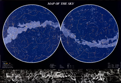 Map of the Sky Posters