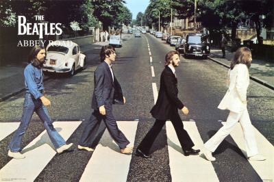 The Beatles- Abbey Road Poster