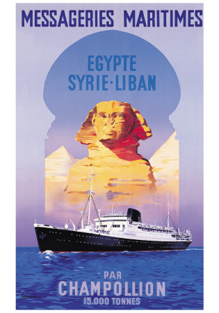 Messageries Maritime, Egypte-Syrie-Liban