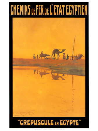 Buy Crepuscule En Egypte at AllPosters.com