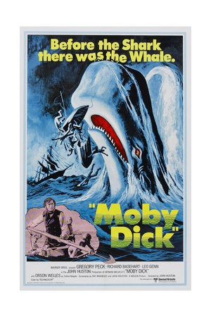 Herman Melville's Moby Dick, 1956,