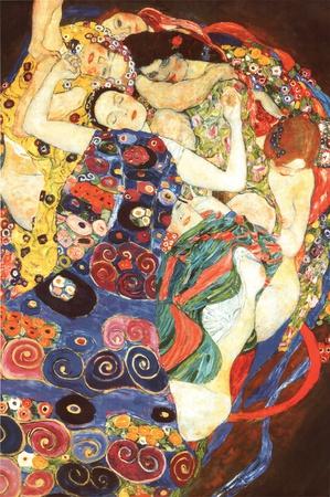Gustav Klimt Virgin Art Print Poster Affordable Art Poster