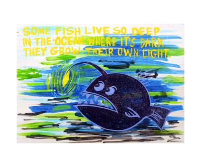 Haiku Series: Anglerfish