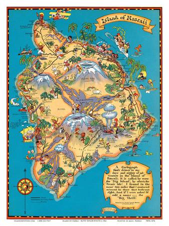 Hawaiian Island of Hawaii (Big ...