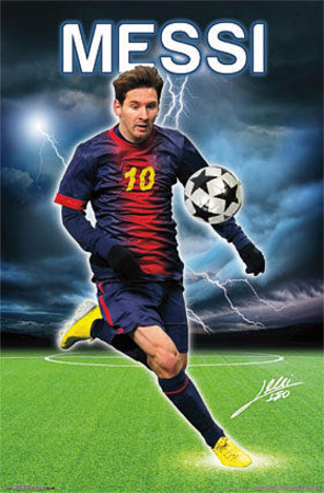 Buy Lionel Messi Relampago at AllPosters.com