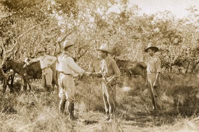 Colonel Percy Harrison Fawcett (1867-1925) in Brazil, 1925