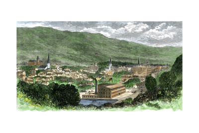 North Adams, Massachusetts, 1870.