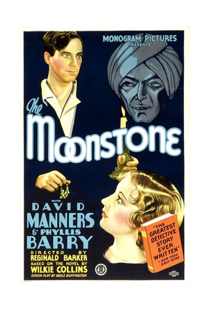 THE MOONSTONE, David Manners, Phyllis Barry, John Davidson, 1934