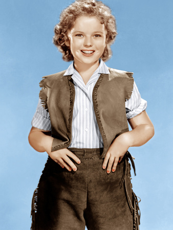 SUSANNAH OF THE MOUNTIES, Shirley Temple, 1939.