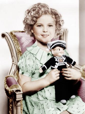 STOWAWAY, Shirley Temple, 1936.