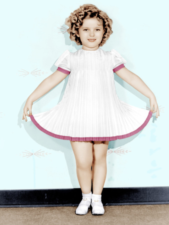 CURLY TOP, Shirley Temple, 1935.