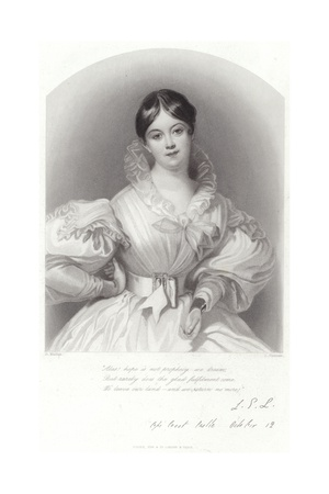 Portrait of Letitia Elizabeth Landon