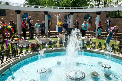 The Garden at Graceland in Memphis ...
