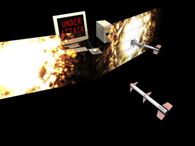 Firewall, Conceptual Computer Artwork