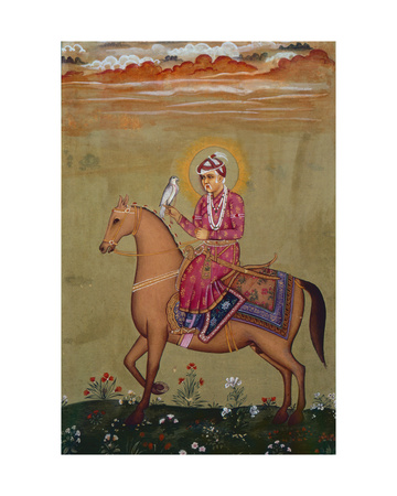Portrait of Emperor Jahangir (1569-1627)