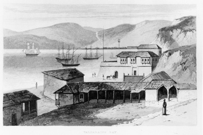 Valparaiso Bay, 1820.