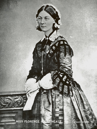 Florence Nightingale, C.1860