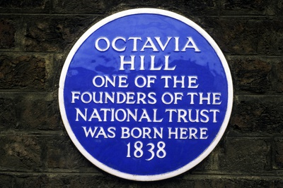 Octavia Hill Plaque